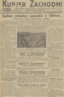 Kurjer Zachodni Iskra : dziennik polityczny, gospodarczy i literacki. R.23, 1932, nr149