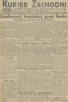 Kurjer Zachodni Iskra : dziennik polityczny, gospodarczy i literacki. R.23, 1932, nr150