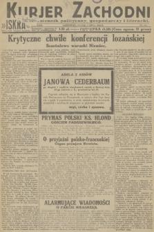 Kurjer Zachodni Iskra : dziennik polityczny, gospodarczy i literacki. R.23, 1932, nr151