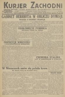 Kurjer Zachodni Iskra : dziennik polityczny, gospodarczy i literacki. R.23, 1932, nr154