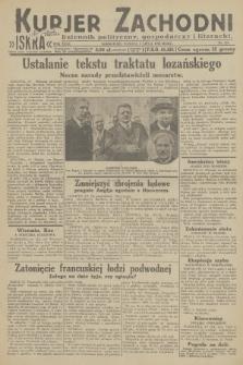 Kurjer Zachodni Iskra : dziennik polityczny, gospodarczy i literacki. R.23, 1932, nr158