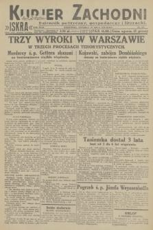 Kurjer Zachodni Iskra : dziennik polityczny, gospodarczy i literacki. R.23, 1932, nr159