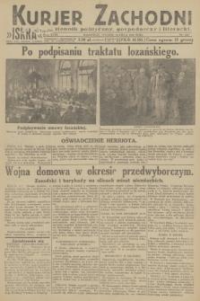 Kurjer Zachodni Iskra : dziennik polityczny, gospodarczy i literacki. R.23, 1932, nr160