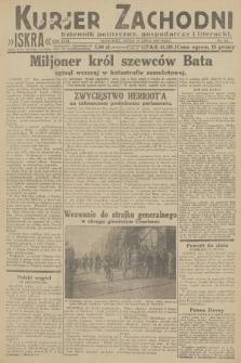 Kurjer Zachodni Iskra : dziennik polityczny, gospodarczy i literacki. R.23, 1932, nr161