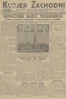 Kurjer Zachodni Iskra : dziennik polityczny, gospodarczy i literacki. R.23, 1932, nr164