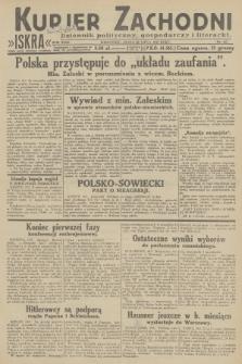 Kurjer Zachodni Iskra : dziennik polityczny, gospodarczy i literacki. R.23, 1932, nr167