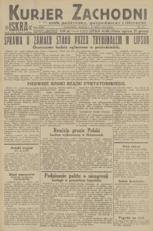 Kurjer Zachodni Iskra : dziennik polityczny, gospodarczy i literacki. R.23, 1932, nr171