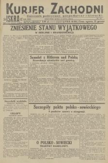 Kurjer Zachodni Iskra : dziennik polityczny, gospodarczy i literacki. R.23, 1932, nr173