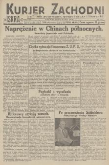 Kurjer Zachodni Iskra : dziennik polityczny, gospodarczy i literacki. R.23, 1932, nr175