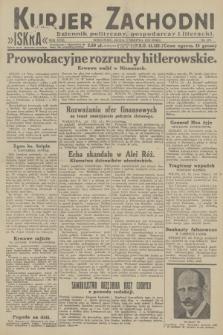 Kurjer Zachodni Iskra : dziennik polityczny, gospodarczy i literacki. R.23, 1932, nr179