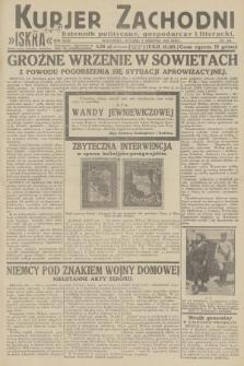 Kurjer Zachodni Iskra : dziennik polityczny, gospodarczy i literacki. R.23, 1932, nr184