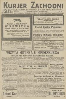 Kurjer Zachodni Iskra : dziennik polityczny, gospodarczy i literacki. R.23, 1932, nr189