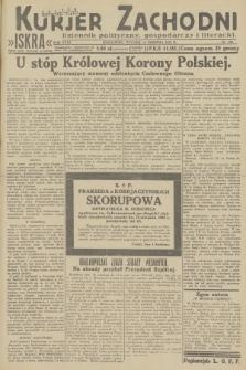 Kurjer Zachodni Iskra : dziennik polityczny, gospodarczy i literacki. R.23, 1932, nr190
