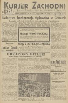 Kurjer Zachodni Iskra : dziennik polityczny, gospodarczy i literacki. R.23, 1932, nr191