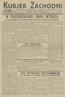 Kurjer Zachodni Iskra : dziennik polityczny, gospodarczy i literacki. R.23, 1932, nr198