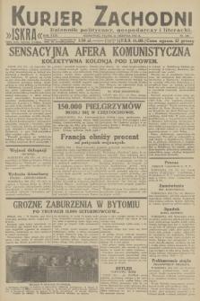 Kurjer Zachodni Iskra : dziennik polityczny, gospodarczy i literacki. R.23, 1932, nr199