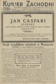 Kurjer Zachodni Iskra : dziennik polityczny, gospodarczy i literacki. R.23, 1932, nr200