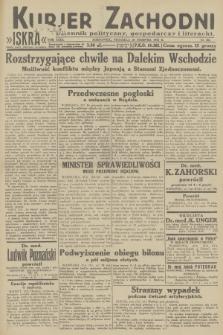 Kurjer Zachodni Iskra : dziennik polityczny, gospodarczy i literacki. R.23, 1932, nr201