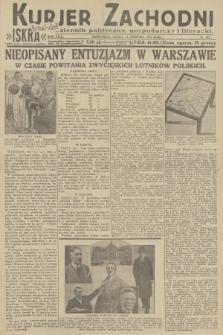 Kurjer Zachodni Iskra : dziennik polityczny, gospodarczy i literacki. R.23, 1932, nr203