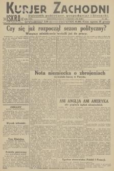 Kurjer Zachodni Iskra : dziennik polityczny, gospodarczy i literacki. R.23, 1932, nr206