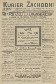 Kurjer Zachodni Iskra : dziennik polityczny, gospodarczy i literacki. R.23, 1932, nr212