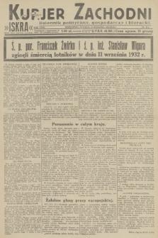 Kurjer Zachodni Iskra : dziennik polityczny, gospodarczy i literacki. R.23, 1932, nr214