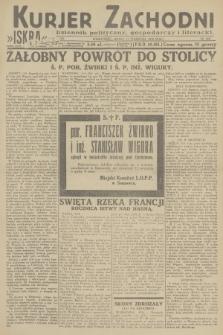 Kurjer Zachodni Iskra : dziennik polityczny, gospodarczy i literacki. R.23, 1932, nr215