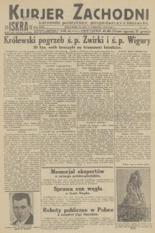 Kurjer Zachodni Iskra : dziennik polityczny, gospodarczy i literacki. R.23, 1932, nr217