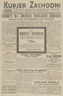 Kurjer Zachodni Iskra : dziennik polityczny, gospodarczy i literacki. R.23, 1932, nr219