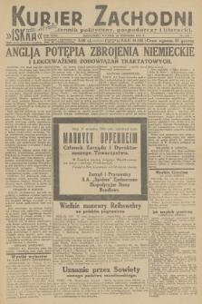 Kurjer Zachodni Iskra : dziennik polityczny, gospodarczy i literacki. R.23, 1932, nr220