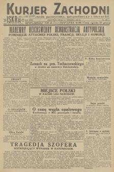 Kurjer Zachodni Iskra : dziennik polityczny, gospodarczy i literacki. R.23, 1932, nr221