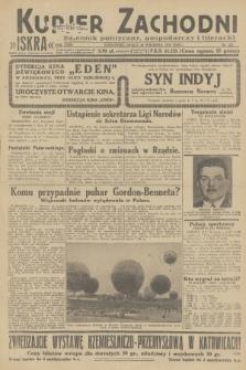 Kurjer Zachodni Iskra : dziennik polityczny, gospodarczy i literacki. R.23, 1932, nr227