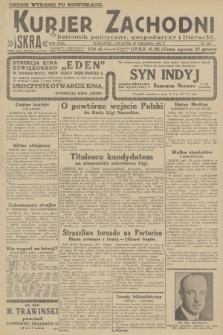 Kurjer Zachodni Iskra : dziennik polityczny, gospodarczy i literacki. R.23, 1932, nr228 [po konfiskacie]