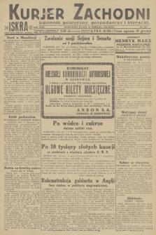 Kurjer Zachodni Iskra : dziennik polityczny, gospodarczy i literacki. R.23, 1932, nr229