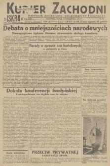 Kurjer Zachodni Iskra : dziennik polityczny, gospodarczy i literacki. R.23, 1932, nr235