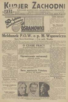 Kurjer Zachodni Iskra : dziennik polityczny, gospodarczy i literacki. R.23, 1932, nr236