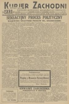 Kurjer Zachodni Iskra : dziennik polityczny, gospodarczy i literacki. R.23, 1932, nr238