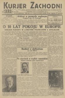 Kurjer Zachodni Iskra : dziennik polityczny, gospodarczy i literacki. R.23, 1932, nr239