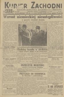Kurjer Zachodni Iskra : dziennik polityczny, gospodarczy i literacki. R.23, 1932, nr243