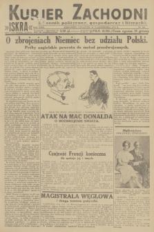 Kurjer Zachodni Iskra : dziennik polityczny, gospodarczy i literacki. R.23, 1932, nr246
