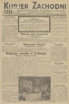 Kurjer Zachodni Iskra : dziennik polityczny, gospodarczy i literacki. R.23, 1932, nr247