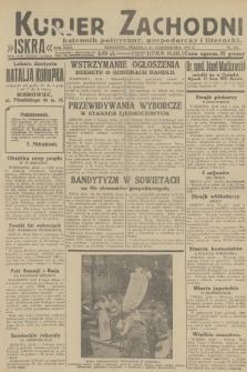 Kurjer Zachodni Iskra : dziennik polityczny, gospodarczy i literacki. R.23, 1932, nr249