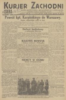 Kurjer Zachodni Iskra : dziennik polityczny, gospodarczy i literacki. R.23, 1932, nr250