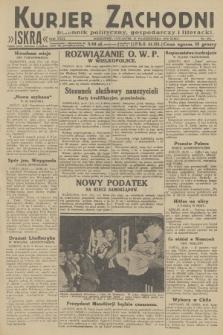 Kurjer Zachodni Iskra : dziennik polityczny, gospodarczy i literacki. R.23, 1932, nr252