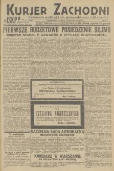 Kurjer Zachodni Iskra : dziennik polityczny, gospodarczy i literacki. R.23, 1932, nr259
