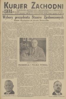 Kurjer Zachodni Iskra : dziennik polityczny, gospodarczy i literacki. R.23, 1932, nr263