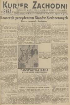 Kurjer Zachodni Iskra : dziennik polityczny, gospodarczy i literacki. R.23, 1932, nr264