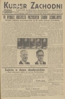 Kurjer Zachodni Iskra : dziennik polityczny, gospodarczy i literacki. R.23, 1932, nr265