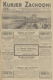 Kurjer Zachodni Iskra : dziennik polityczny, gospodarczy i literacki. R.23, 1932, nr267
