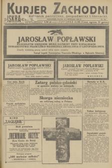 Kurjer Zachodni Iskra : dziennik polityczny, gospodarczy i literacki. R.23, 1932, nr271